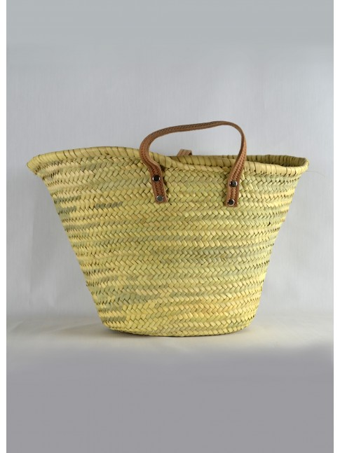 Palm basket.
