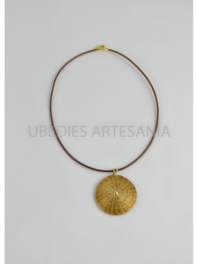 love vermeil botanical flower large necklace products mandala shop