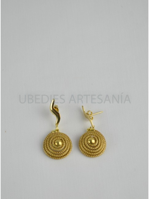 Earrings Spiral.